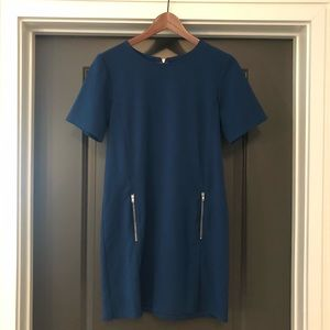 One Clothing LA Womens Dress Size S Blue